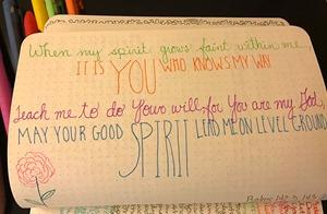 Bullet Journalling Bible Verses 4s