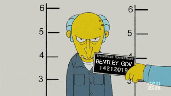 Bentley Burns Mugshot