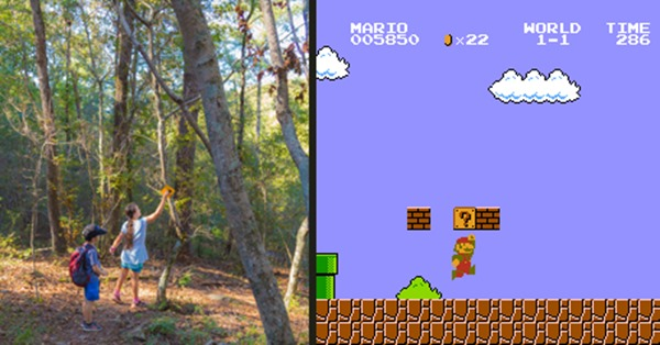 Hiking Mario Game