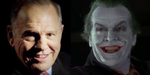 Roy Moore The Joker