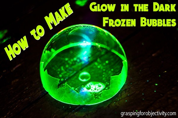 How to Make Glow in the Dark Frozen Bubbles