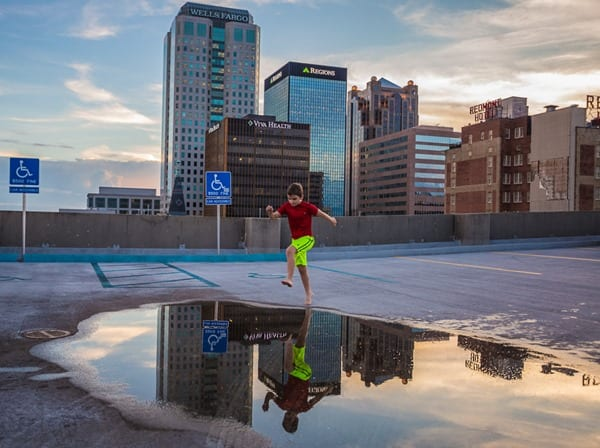 180529-Noah-Sunset-Downtown-Puddle-Jumps-IMG_9272 s