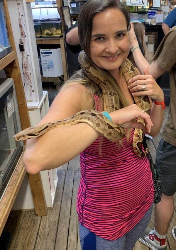 rachel with snake IMG_0916